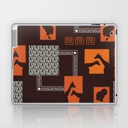 African Tribal Pattern No. 28 Laptop & iPad Skin