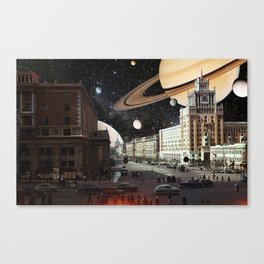 Ring of Saturn Canvas Print