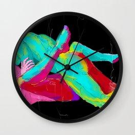 Rough Desire Wall Clock