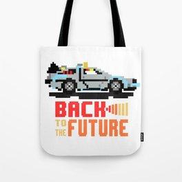 Back to the future: Delorean Tote Bag