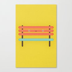 Bench Chair Canvas Print
