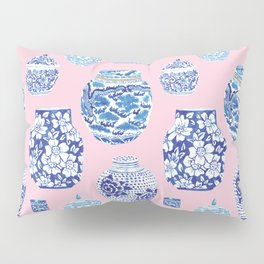 Chinoiserie Ginger Jar Collection No.7 Pillow Sham