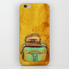 toasted tapes iPhone & iPod Skin