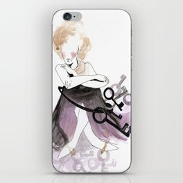 Keys to the castle iPhone Skin