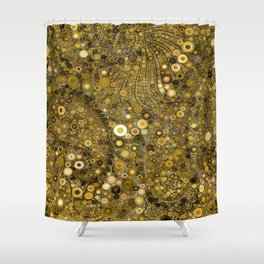 :: Good as Gold :: Shower Curtain