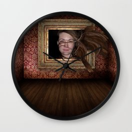 Gust of Freedom Wall Clock