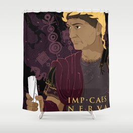 Trajan Shower Curtain