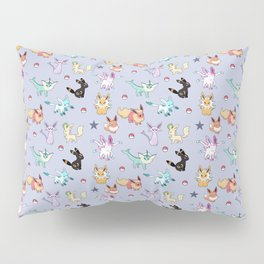 Eeveeloution Pattern Pillow Sham