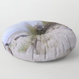 Waldport Oregon - Sand Time Floor Pillow