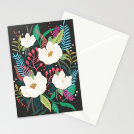 The Garden of Alice, flower, floral, blossom art print Stationery Cards