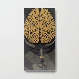 Hannibal Brain Metal Print