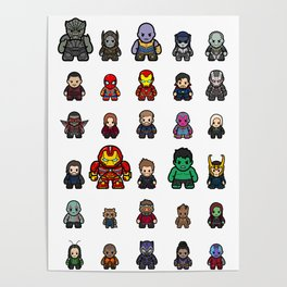 All Characters Poster