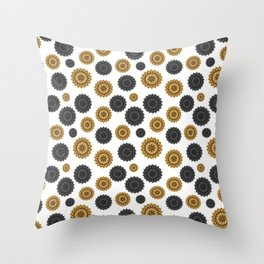 Gol Sun Throw Pillow