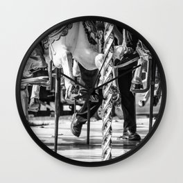 Dancing with Hooves Wall Clock