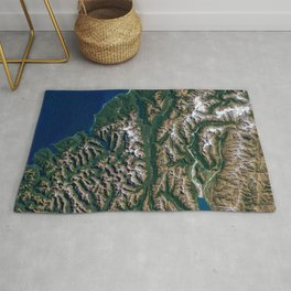 Southern Alps - New Zealand Rug
