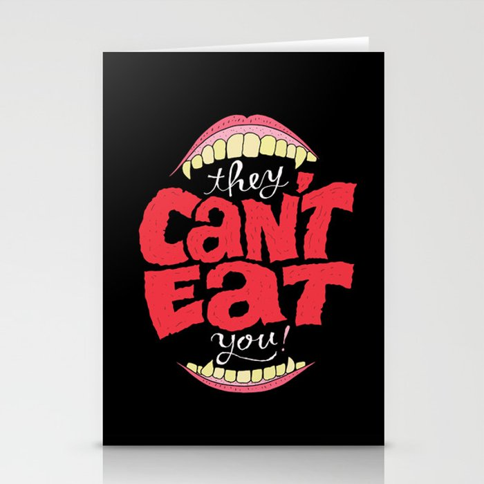 They Can't Eat You Stationery Cards