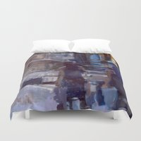 sisters Duvet Covers featuring sisters by lynn irena grayson