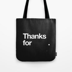 (NOTHING) Tote Bag