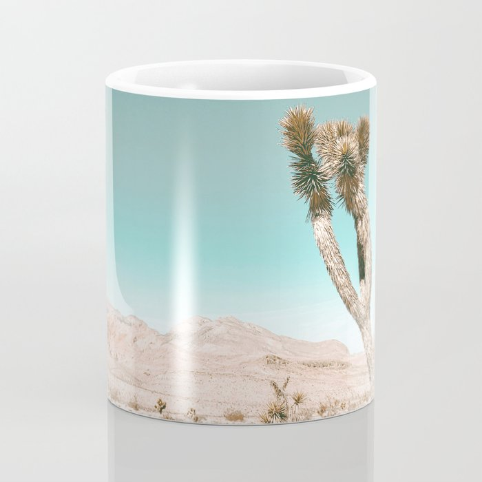 Vintage Desert Scape // Cactus Nature Summer Sun Landscape Photography Coffee Mug