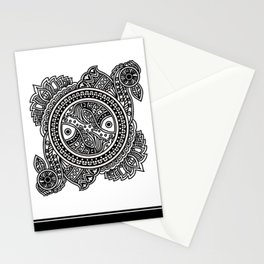 Design inspired from Mithila Painting Stationery Cards