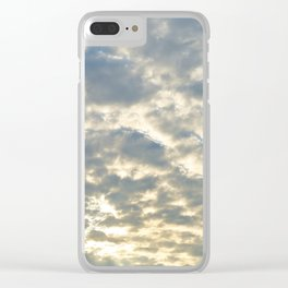 Shimmering Sky Clear iPhone Case