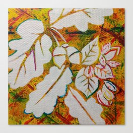 Leaves on the World Tree: Danish Beech and Oak Canvas Print
