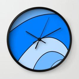 Just blue. Wall Clock
