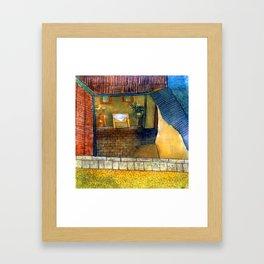 Lajos Vajda View of an Interior Framed Art Print