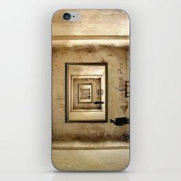 Der Blick zu mir ! iPhone Skin