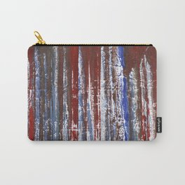 Red-blue abstraction Carry-All Pouch