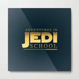 Adventures in Jedi School Metal Print