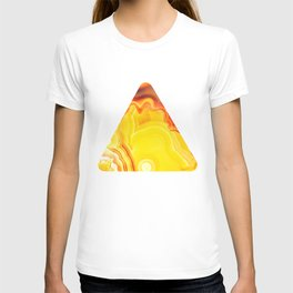 Earth's Fantasy, from the Lithosphere emerges Beauty - Agate T-shirt