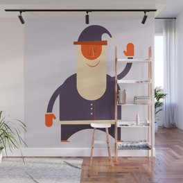 Say Hi To Santa Wall Mural