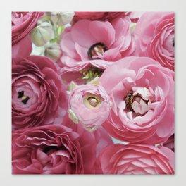 Bloom Sweetly - Rose Pink Canvas Print