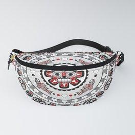 Pacific Northwest Native American Art Mandala Fanny Pack