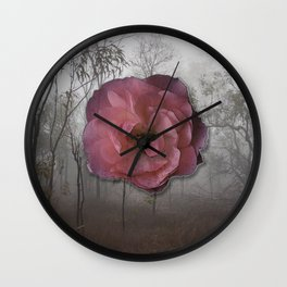 Bloom Out of Gravity Wall Clock