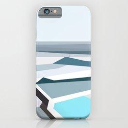 Geometric Bondi beach, Sydney iPhone Case