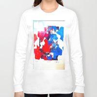 texas Long Sleeve T-shirts featuring Texas by Evan Hawley