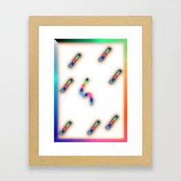 Gasa Framed Art Print