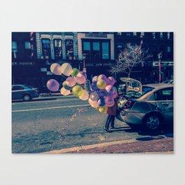 Ballons on U Street Canvas Print