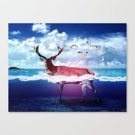 Dear U Canvas Print