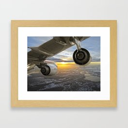 Airbus A-340 Framed Art Print