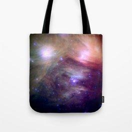 Galaxy : Pleiades Star Cluster NeBula Tote Bag