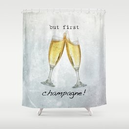 Champagne! Shower Curtain