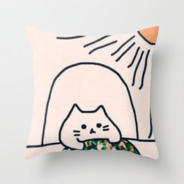 cats 612 Throw Pillow