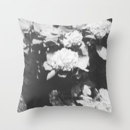 Mission Hill in black Throw Pillow