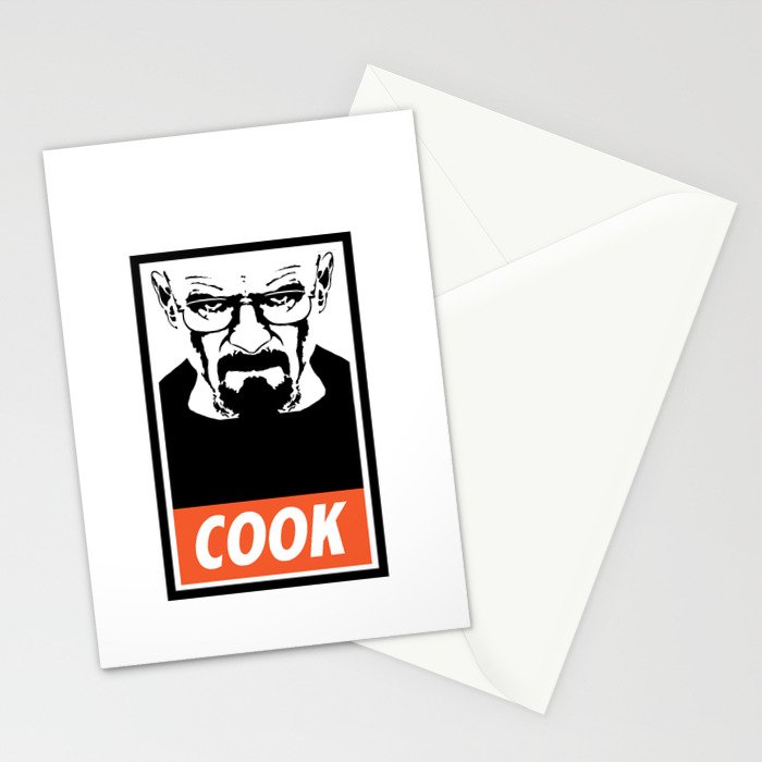 Heisenberg the Cook Stationery Cards