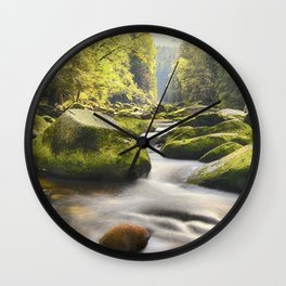 Soothing Waters Wall Clock