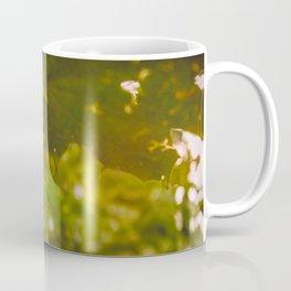 Rainy autumn leaves Coffee Mug