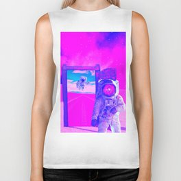 Pink World by GEN Z Biker Tank